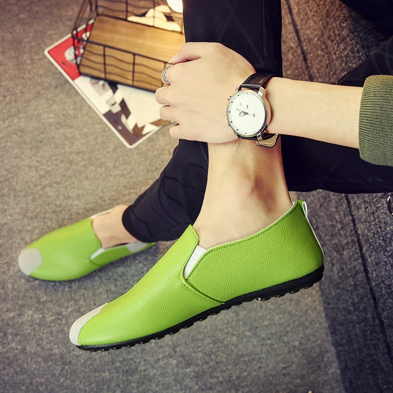 Trendy man slip on casual shoes