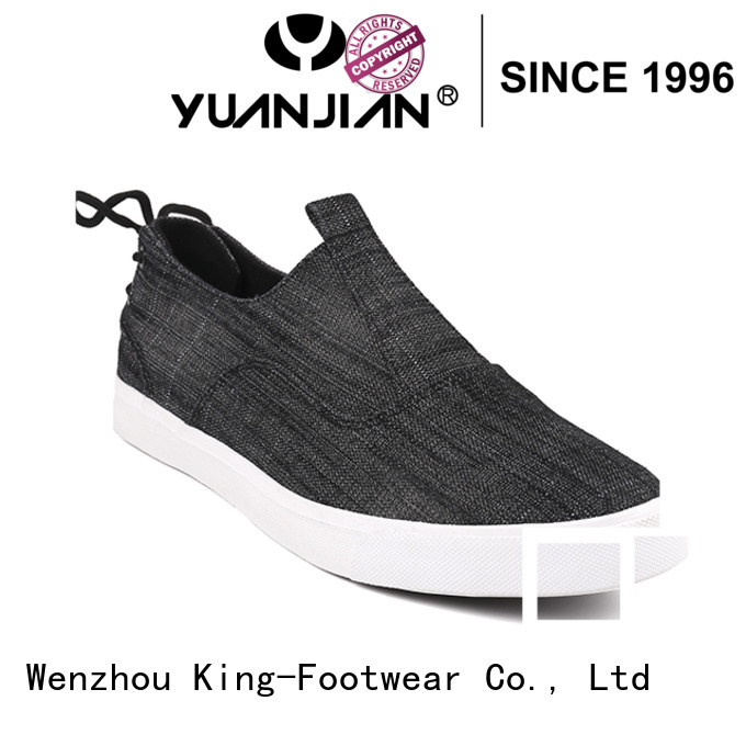 King-Footwear good quality mens casual canvas shoes wholesale for travel