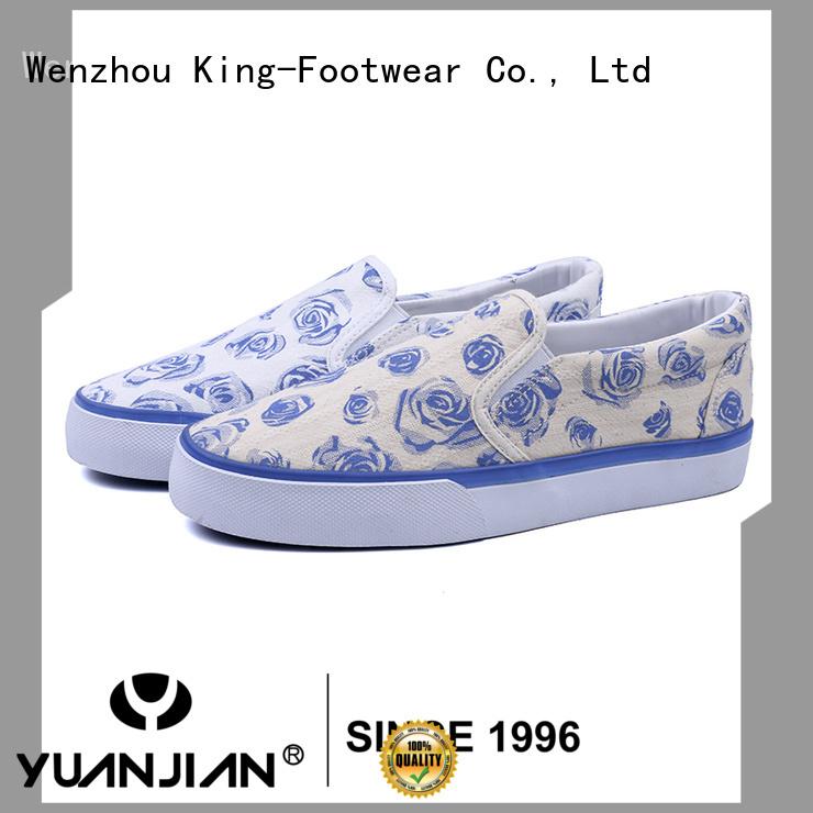 King-Footwear popular vulcanized shoes supplier for schooling