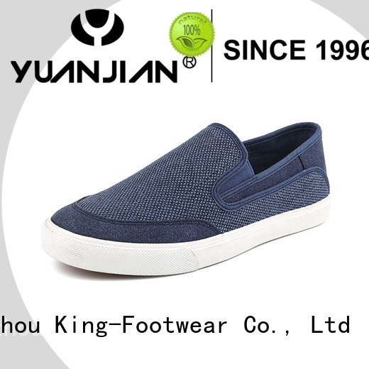 King-Footwear casual wear shoes for men supplier for schooling