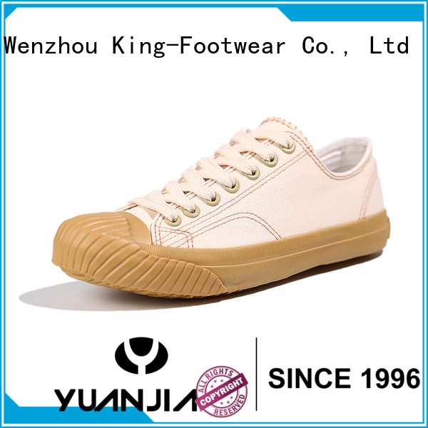 King-Footwear canvas sports shoes factory price for travel