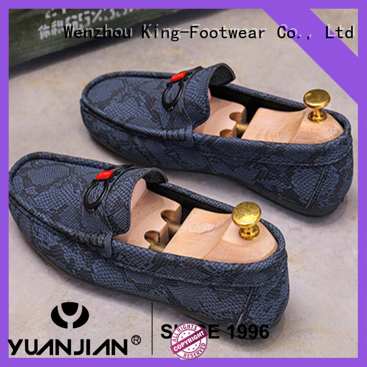 King-Footwear canvas shoes without lace promotion for school