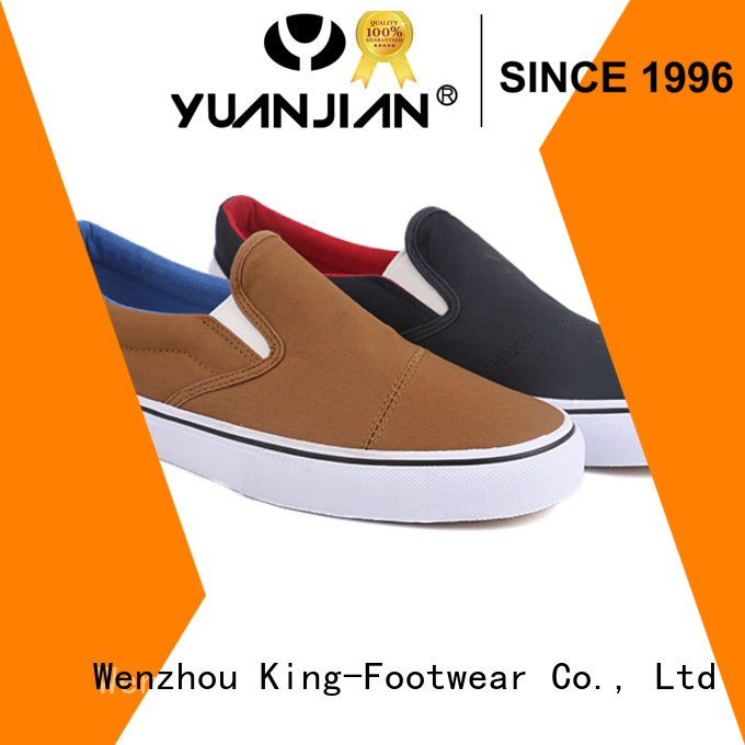 King-Footwear casual slip on shoes personalized for sports