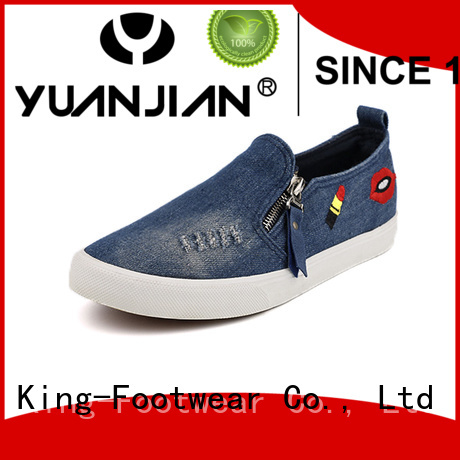 King-Footwear jeans canvas shoes manufacturer for travel
