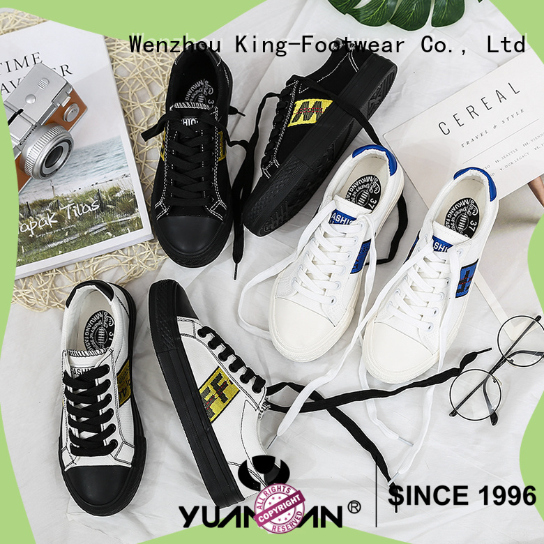 King-Footwear mens canvas shoes cheap factory price for travel