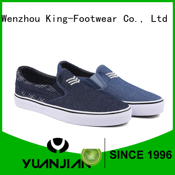 King-Footwear vulcanized shoes factory price for schooling