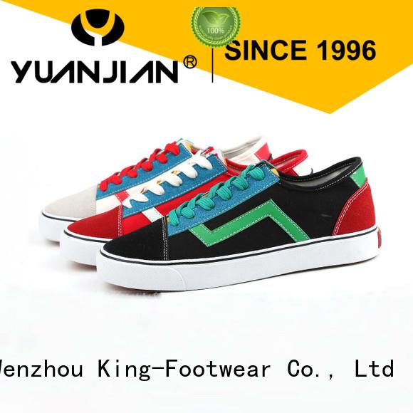 King-Footwear retro sneaker supplier for men