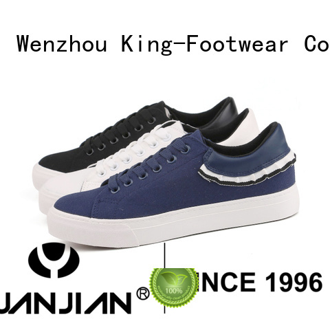 King-Footwear good quality new canvas shoes promotion for daily life