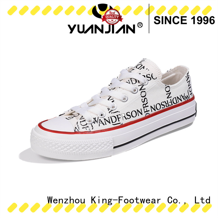 King-Footwear glitter canvas shoes manufacturer for daily life