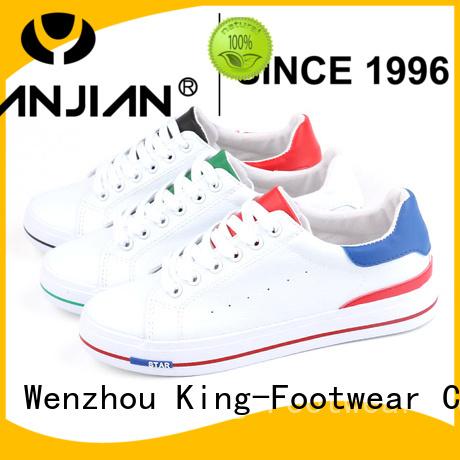 King-Footwear leisure canvas sneakers shoes wholesale for men