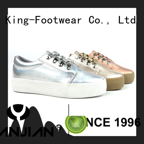 King-Footwear hot sell high top skate shoes factory price for schooling