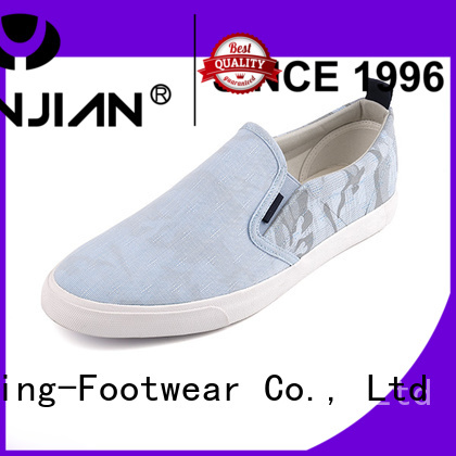 King-Footwear durable black canvas shoes promotion for travel