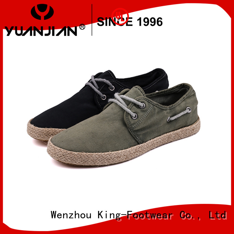 King-Footwear hot sell casual slip on shoes personalized for traveling