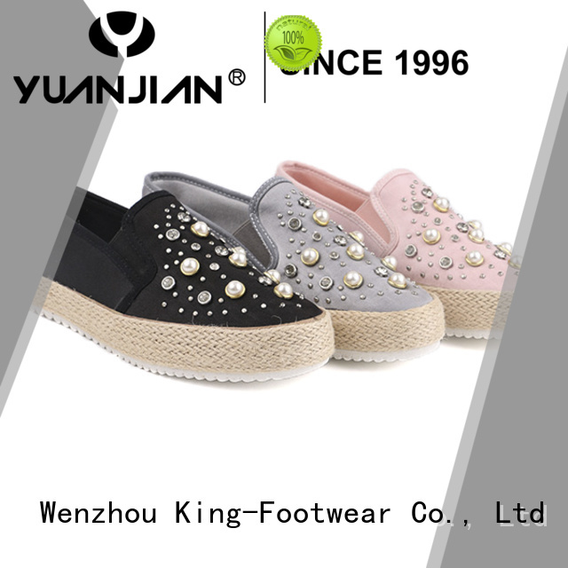 King-Footwear fashion casual slip on shoes factory price for occasional wearing