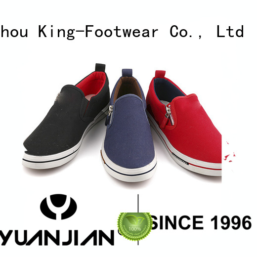 King-Footwear best canvas shoes factory price for daily life