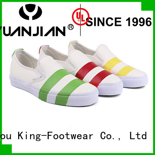 King-Footwear hot sell vulc shoes personalized for sports
