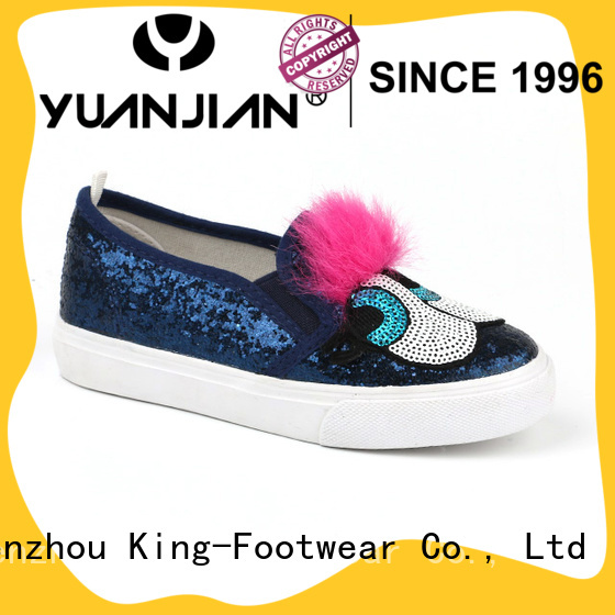 King-Footwear fashion pvc shoes supplier for schooling
