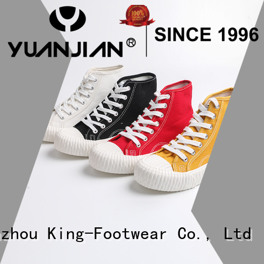 King-Footwear good quality canvas shoes for girls promotion for travel