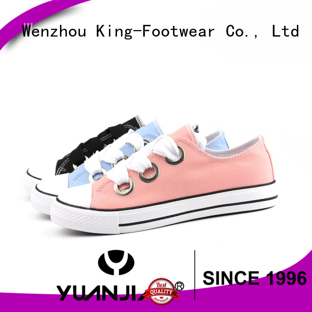 good quality canvas shoes for girls manufacturer for travel