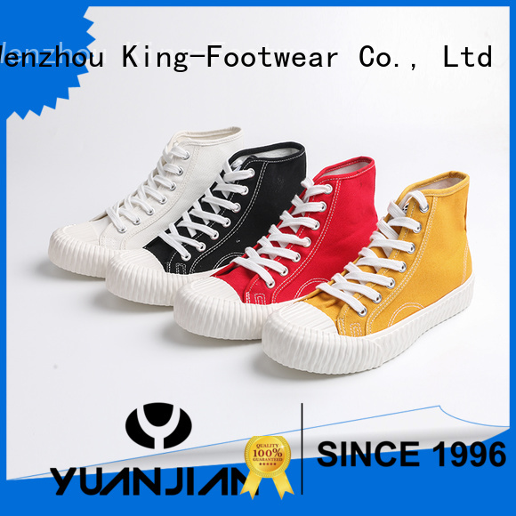 good quality plain canvas shoes wholesale for working