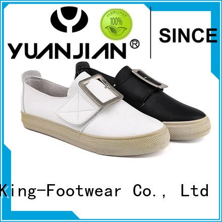 King-Footwear modern pu shoes design for schooling