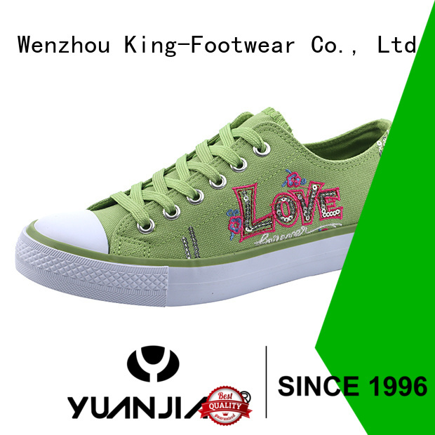King-Footwear durable best canvas shoes promotion for working