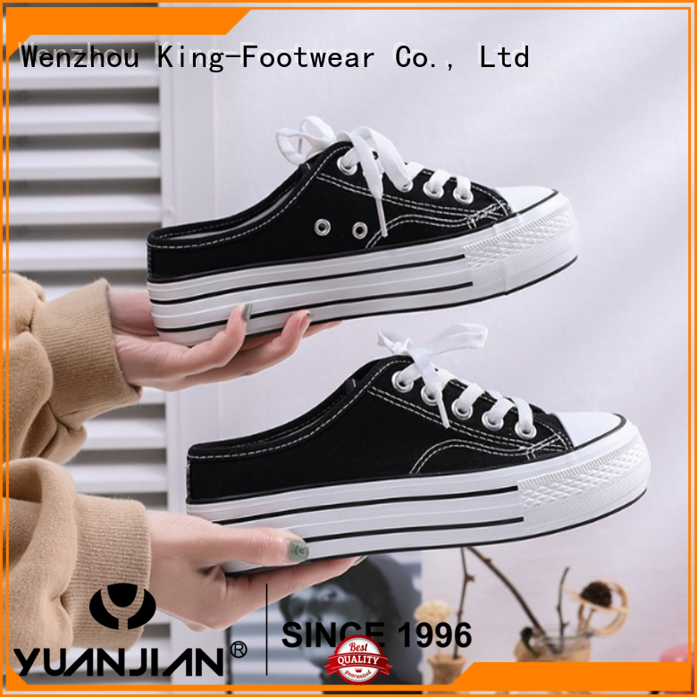King-Footwear hot sell fashion footwear factory price for traveling