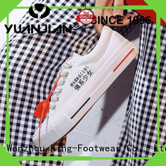 King-Footwear vulcanized rubber shoes design for sports