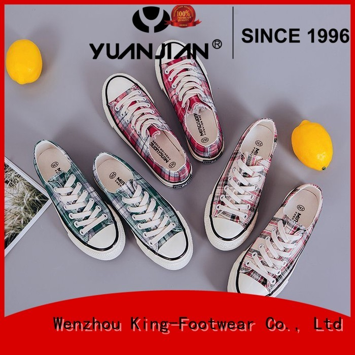 durable best mens canvas shoes manufacturer for school