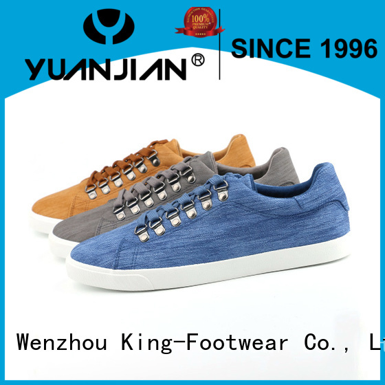 King-Footwear breathable white sneaker directly sale for children