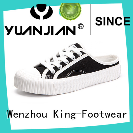 King-Footwear beautiful comfortable canvas shoes promotion for working