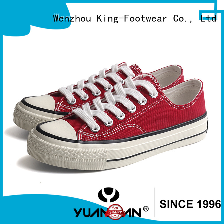 durable mens canvas shoes cheap wholesale for school