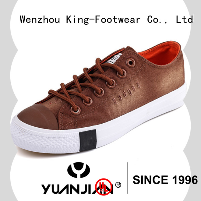 King-Footwear canvas casual shoes factory price for travel