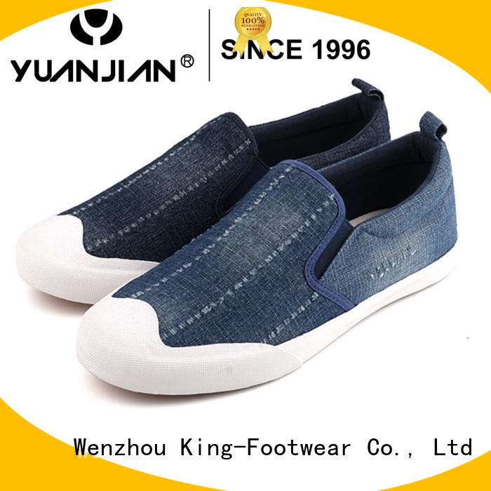 King-Footwear hot sell canvas shoes for girls manufacturer for working