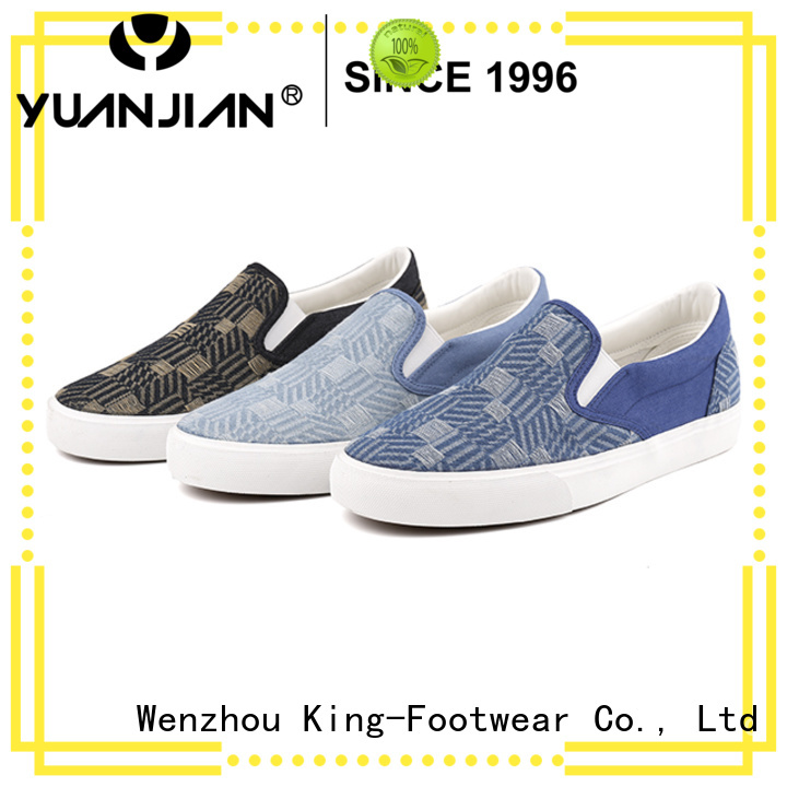 King-Footwear fashion vulcanized rubber shoes design for occasional wearing