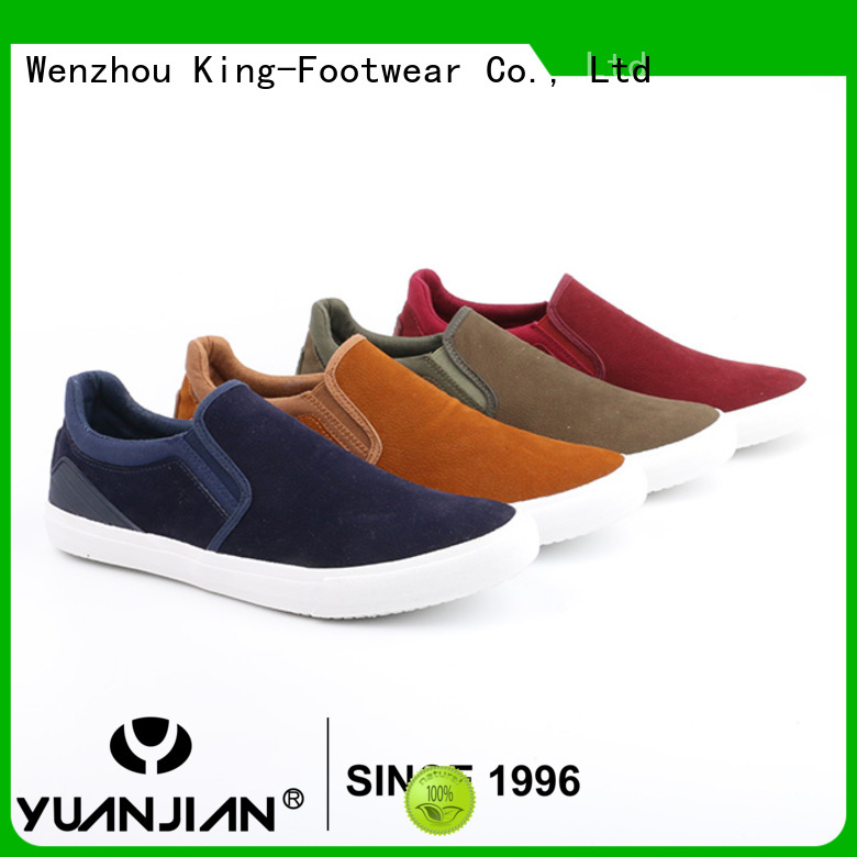 King-Footwear casual slip on shoes personalized for schooling