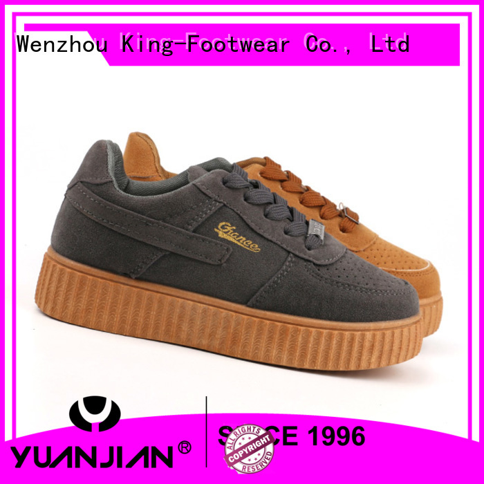 healthy embroidery sneaker wholesale for children