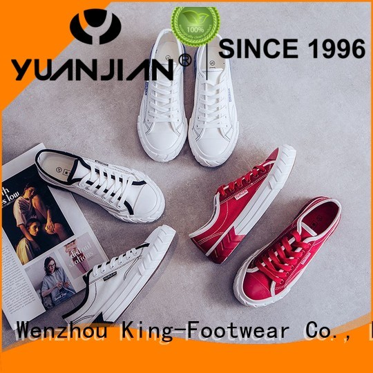 King-Footwear skate shoe brands factory price for traveling