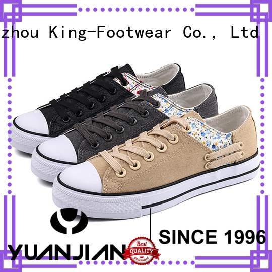 King-Footwear comfortable canvas shoes manufacturer for travel