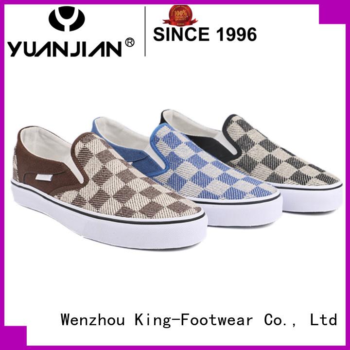 King-Footwear modern pu footwear supplier for occasional wearing