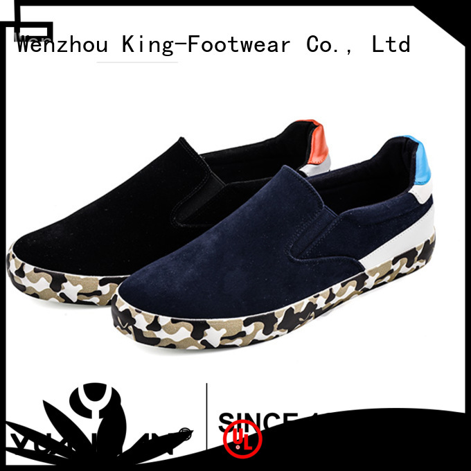 King-Footwear fashion vulc shoes personalized for schooling