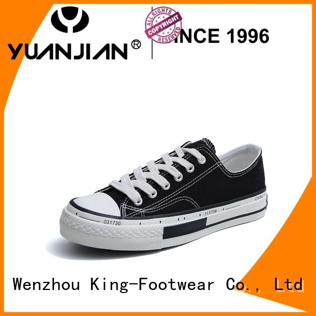 King-Footwear leather canvas shoes manufacturer for travel