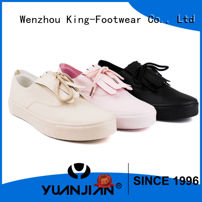 fashion vulcanized rubber shoes supplier for occasional wearing