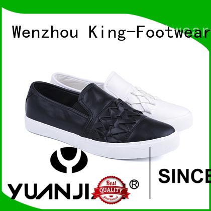 King-Footwear pu footwear factory price for occasional wearing