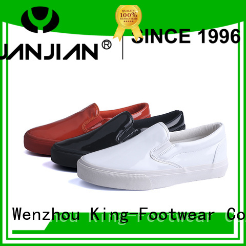 King-Footwear fashion high top skate shoes factory price for schooling