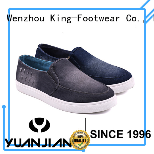 King-Footwear durable best canvas shoes manufacturer for travel