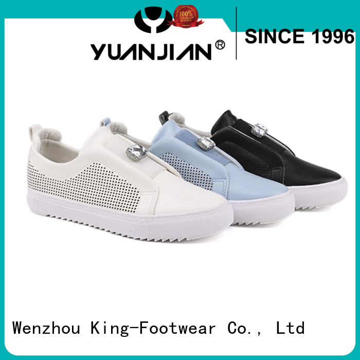 modern vulcanized rubber shoes supplier for occasional wearing