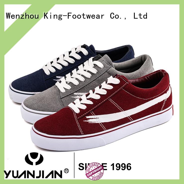 King-Footwear leisure plain sneaker wholesale for children
