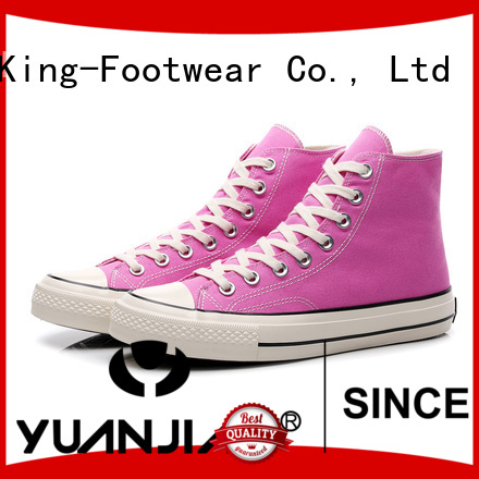 modern vulcanized rubber shoes supplier for sports