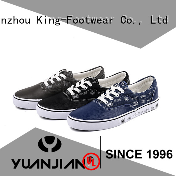 King-Footwear denim canvas shoes factory price for travel